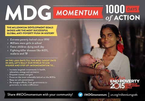 1000 Days to the MDGs Target Date