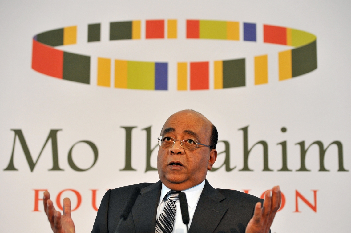 Mo Ibrahim, Foremost African businessman and Founder, Mo Ibrahim Foundation