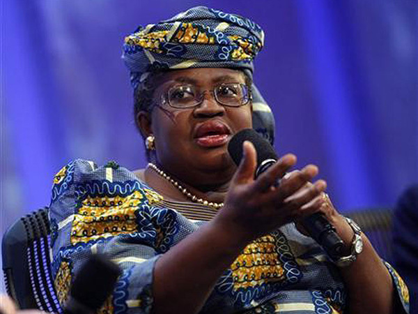 Nigeria's Coordinating Minister for the NigeriaEconomy and Minister of finance Dr. Ngozi Okonjo-Iweala